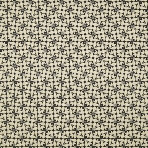 Orla Kiely furniture fabric Woven Acorn Cup Charcoal