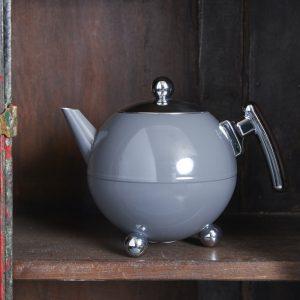 Bredemeijer teapot Duet Bella Ronde Cool Grey