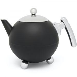 Bredemeijer teapot Duet Bella Ronde matt black
