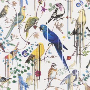 Christian Lacroix wallpaper Birds Sinfonia Perce Neige