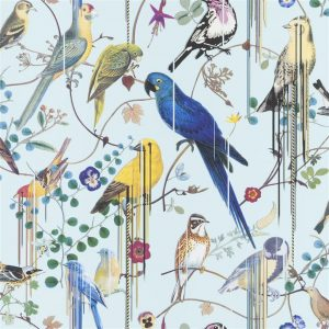 Christian Lacroix wallpaper Birds Sinfonia Source