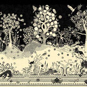 Christian Lacroix mural Bois Paradis Primevere