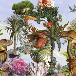 Christian Lacroix mural Jardin des Reves Panoramic Prisme