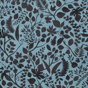Christian Lacroix wallpaper L-Eden Bleu Nigelle