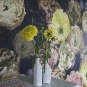 Designers Guild mural Le Poeme De Fleurs Midnight