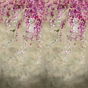 Designers Guild mural Shinsha Scene 1 Blossom