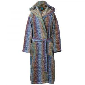 Elaiva hooded bath robe Night Sky Blue