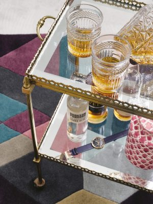 Ted Baker rug Mosaic Light Purple