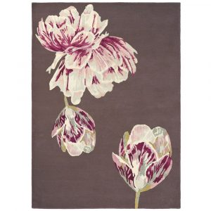 Ted Baker rug Tranquility Aubergine