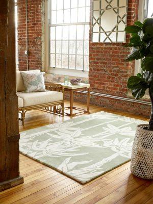 Florence Broadhurst rug Japanese Bamboo Jade