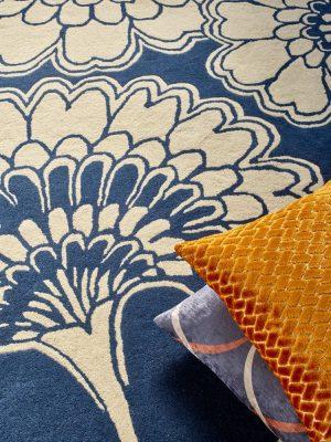 Florence Broadhurst rug Japanese Floral Oyster