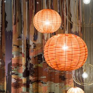 Missoni Home pendant lamp Bubble Nude