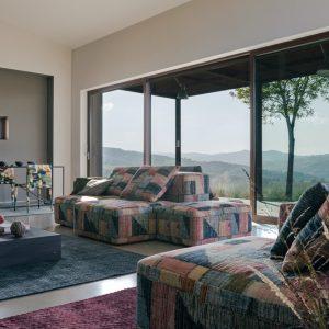 Missoni Home modular sofa Tektonik