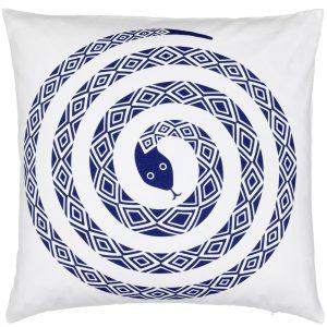 Vitra cushion Snake Ultramarine