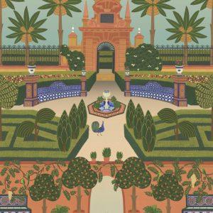 Cole and Son wallpaper Alcazar Gardens 7020