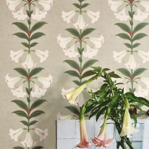 Cole and Son wallpaper Angels Trumpet 3007