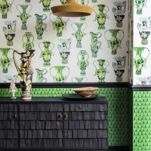 Cole and Son wallpaper Khulu Vases 12056