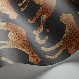 Cole and Son wallpaper Leopard Walk 2008