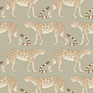 Cole and Son wallpaper Leopard Walk 2009
