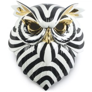 Lladró decorative mask Owl