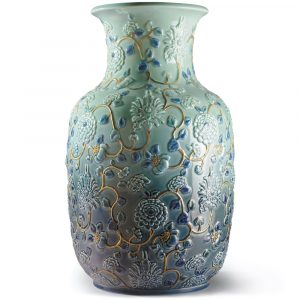 Lladró flower vase Peonies