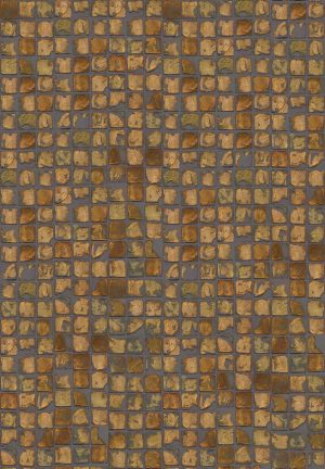 Casamance wallpaper Agile Argile orange