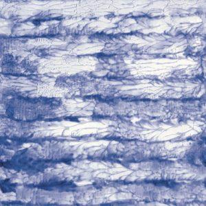 Casamance panoramic wallpaper panel Bleu du Paradis