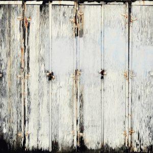Casamance panoramic wallpaper panel Charniere du Temps