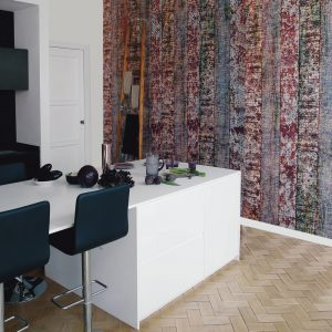 Casamance wallpaper Ecorce de Rouille