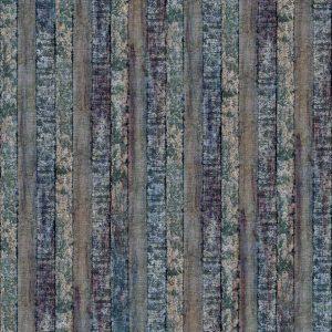 Casamance wallpaper Ecorce de Rouille vert-gris