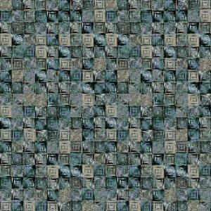 Casamance wallpaper Pierre de Lave blue