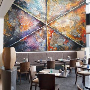 Casamance panoramic wallpaper panel Tabloxyde