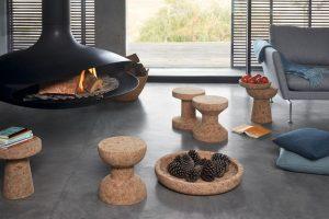Vitra stool Cork Family Model E