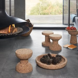 Vitra stool Cork Family Model D