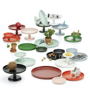 Vitra Rotary Tray palm green