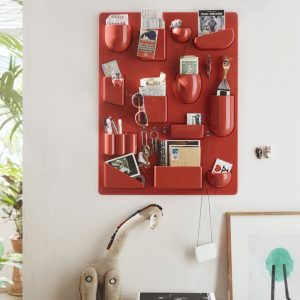Vitra Uten.Silo II wall storage board red