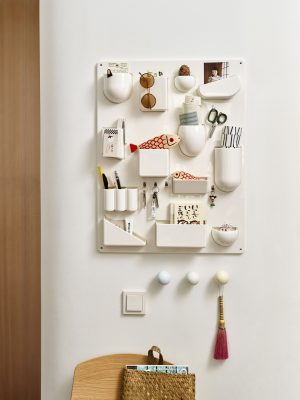 Vitra Uten.Silo II wall storage board white