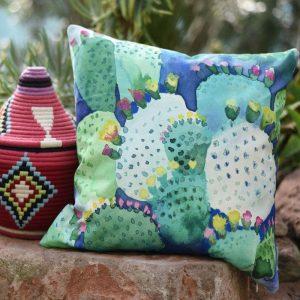 Bluebellgray cushion Cactus