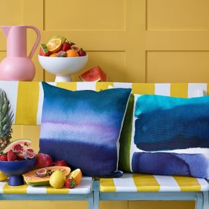 Bluebellgray cushion Muralla Azure