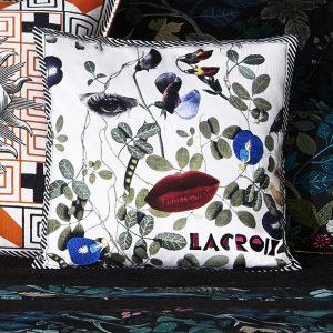 Christian Lacroix cushion Dame Nature Printemps
