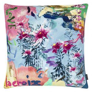 Christian Lacroix cushion L-Herbier Ruisseau