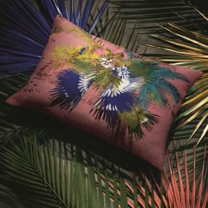 Christian Lacroix cushion Oiseau Fleur Bourgeon