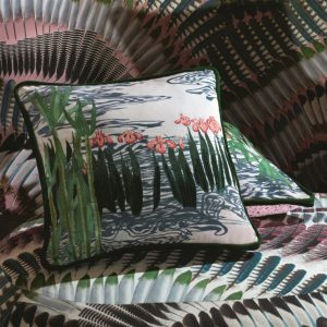 Christian Lacroix cushion Ondine Bourgeon