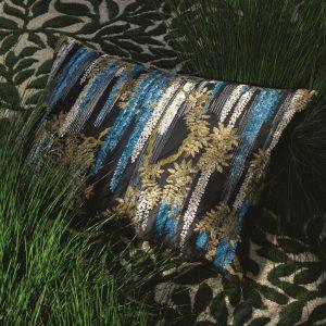 Christian Lacroix cushion Wisteria Alba Ruisseau
