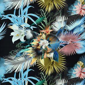 Christian Lacroix fabric Oiseau De Bengale Marais