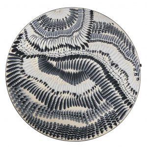 Christian Lacroix round rug Prete-moi Ta Plume
