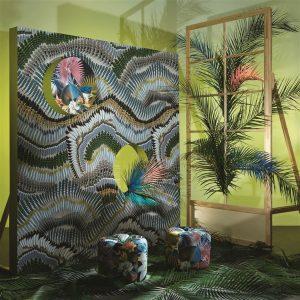 Christian Lacroix wallpaper panel Prete-Moi Ta Plume Printemps