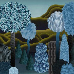 Christian Lacroix wallpaper panel Songe D-Ete Marais