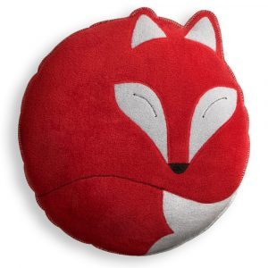 Leschi cuddly cushion Paco the Fox red