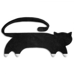 Leschi warming body wrap pillow Coco the Cat midnight